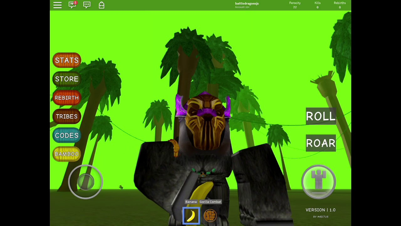 ROBLOX Gorilla simulator code | Doovi