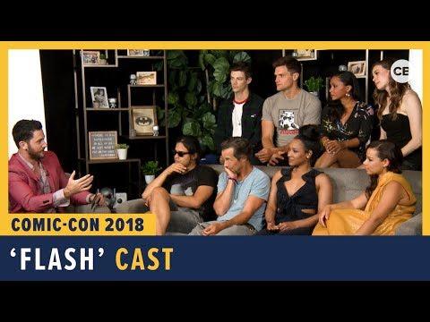 'The Flash' Cast  SDCC 2018 Exclusive