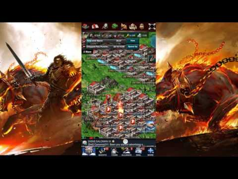 Game Of War Ep 135 Rallied And Burned A 40BIllion Player Made Him Shield