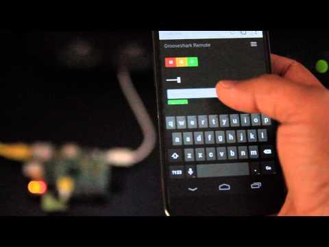 Raspberry Pi Music Box - Grooveshark Server and Web UI