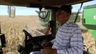 Kansas Farm Family Corn Harvest: America
