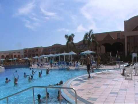 Египет .Отель Али Баба.Анимация у бассейна.