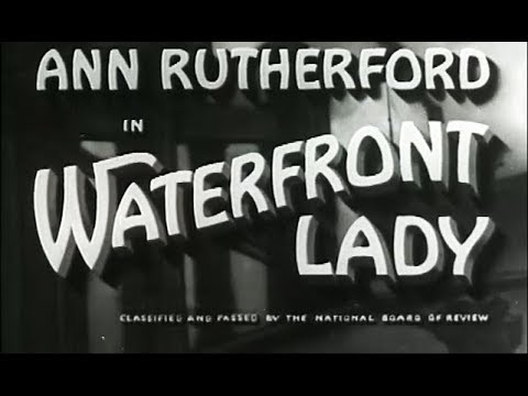 Crime Drama Movie - Waterfront Lady (1935)