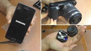 3 ПРОСТЫХ РЕМОНТА: Колонка Xiaomi | Смартфон Samsung A3 | Беззеркалка Sony