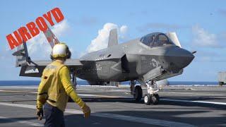 F-35C Carrier Testing USS George Washington (CVN-73)