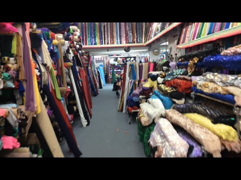 FABRIC SHOPPING IN NEW YORK CITY'S GARMENT DISTRICT !