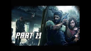 The Last of Us Walkthrough Part 11 - Elevator (PS4 Pro 4K Remaster Let's Play)