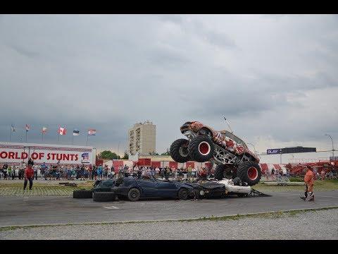 American Monster Truck Motor Show w Tarnobrzegu