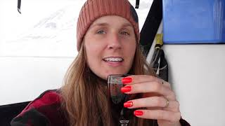 A weekend in my life on Svalbard | Ice swimming & glacier drinks 4K