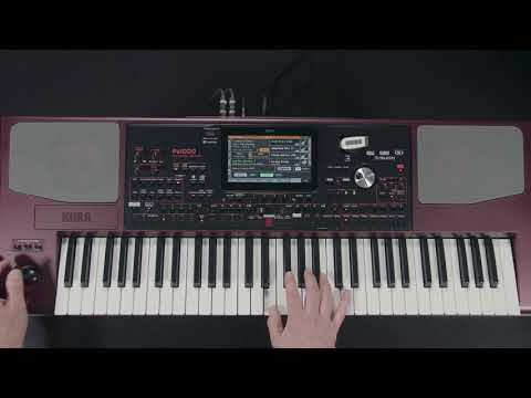 KORG Pa1000 - 08 - le mode SongBook
