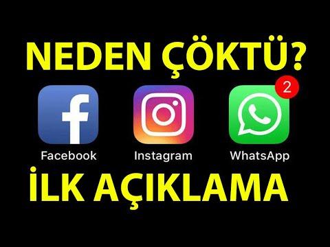Instagram, Facebook ve WhatsApp Çöktü!
