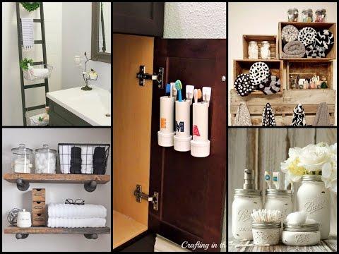 Smart Bathroom Organization and Storage Tips - 동영상