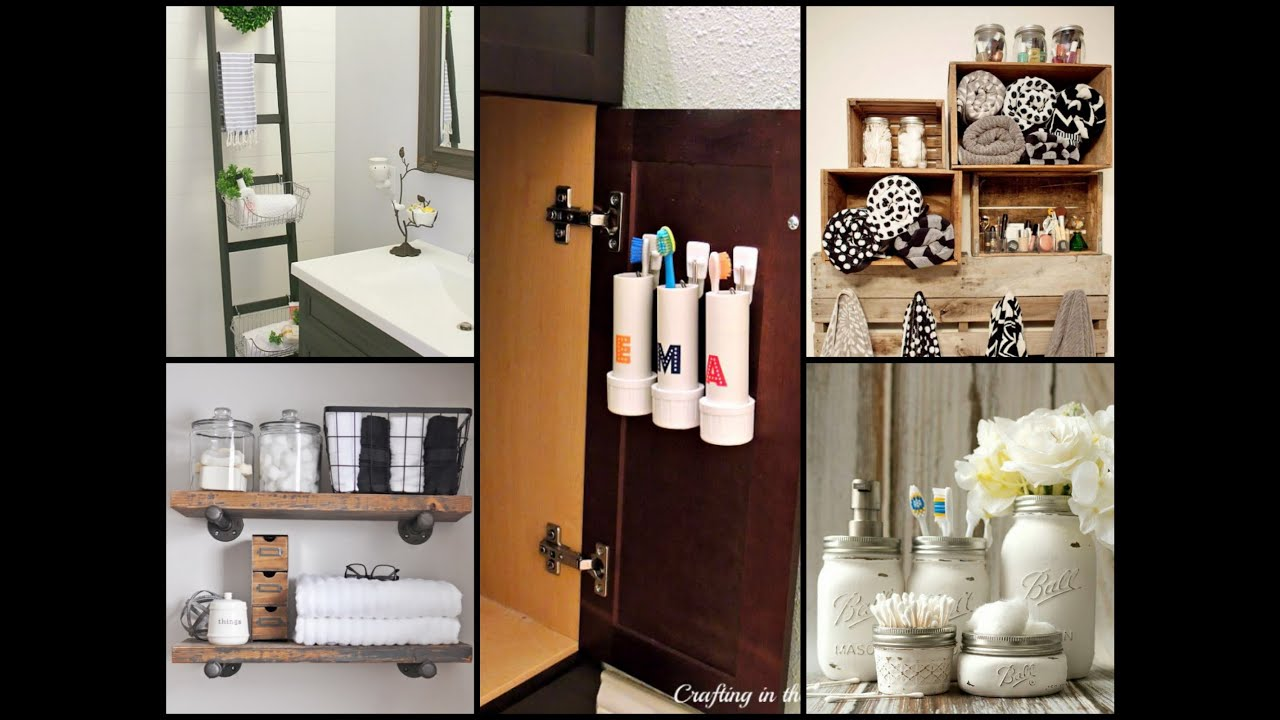 Smart Bathroom Organization And Storage Tips Youtube