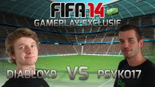 FIFA14 Gameplay exclusif vs Diablox9