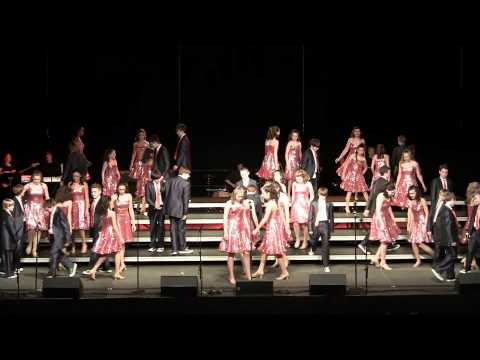 "Edison Middle School Show Choir - ""Electric Youth"" - 2013 WWS Choral Classic"