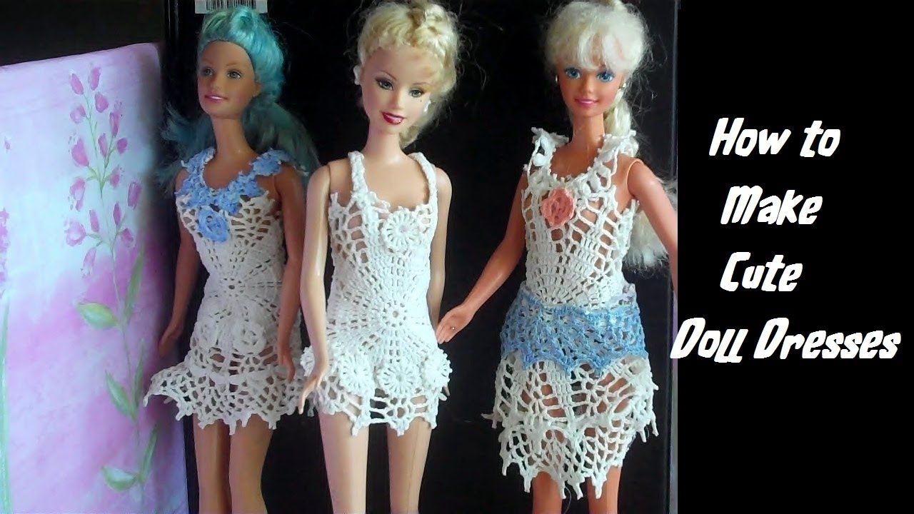 doll dress how to make
