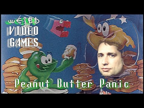 Weird Video Games - Peanut Butter Panic