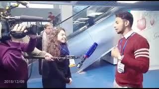 Media Talk with Russian News Channel | Moscow | Ahmad Toor | International Volunteer Forum 2018