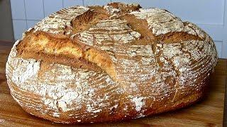 Brot-Brot selber backen-Weizen-Dinkel Brot Rezept-Brot backen-Bauernbrot
