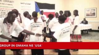 ABYEI COMMUNITY IN  THE STATE OF NEBRASKA CELEBRATING THE GREAT EVENT, ABYEI BACK TO SOUTH SUDAN