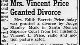 Vincent Price Biography