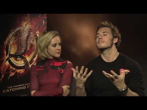 The Hunger Games: Catching Fire Interviews -- Sam Claflin, Jena Malone And Jeffrey Wright