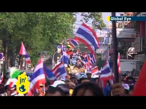 Anti-government protesters gather in Bangkok: Thai protests against PM Yingluck Shinawatra