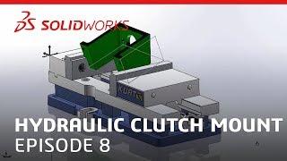 Coffee & CAM: Hydraulic Clutch Mount Video #8 - SOLIDWORKS