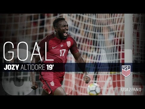 MNT vs. Panama: Jozy Altidore's First Goal - Oct. 6, 2017