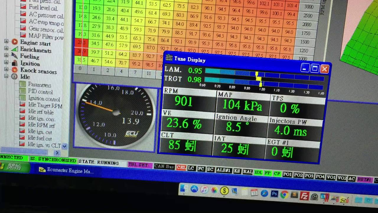BMW M50 Setup Toyota 4AGE ITB with EcuMaster EMU standalone ECU Really fine  tune 全取代電腦調教 廢除流量計