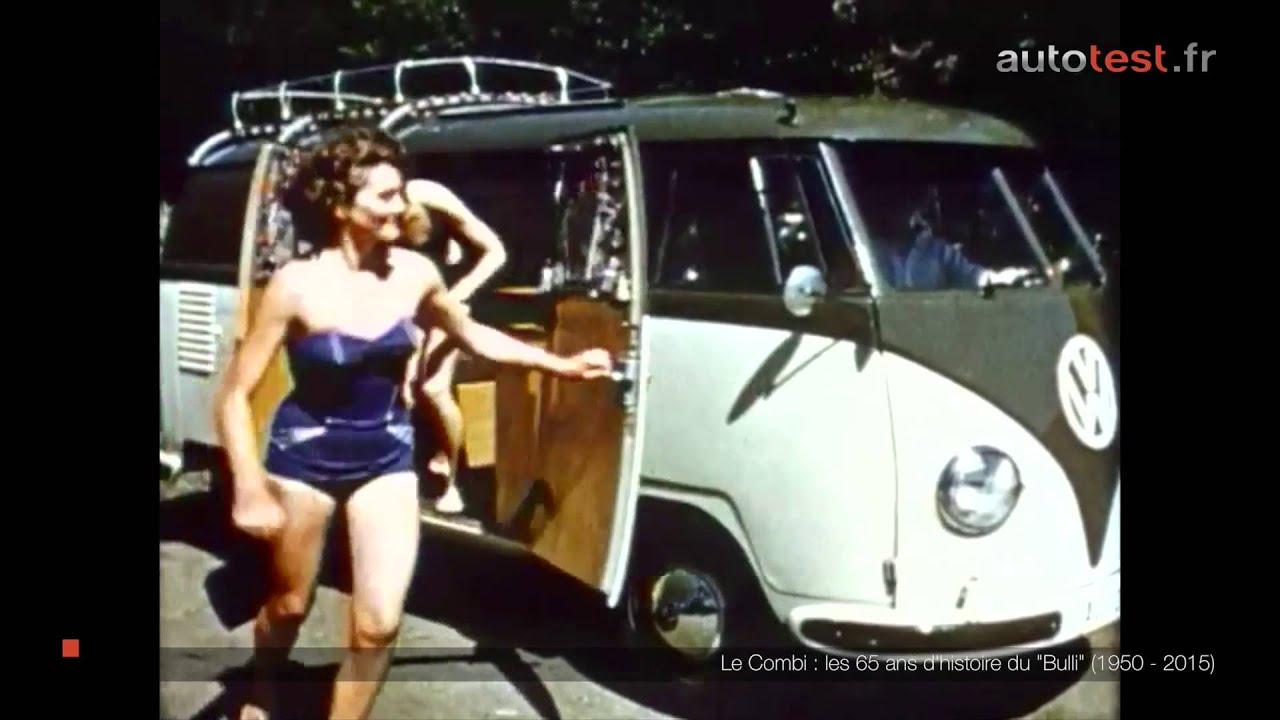 volkswagen transporter les 65 ans d 39 histoire du combi youtube. Black Bedroom Furniture Sets. Home Design Ideas