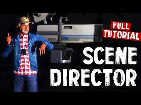 GTA V: How To Use Scene Director Mod For Machinima [TUTORIAL   Rockstar Editor]