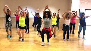 1,2,3 Sofia Reyes feat Jason Derulo ( De la Ghetto) Zumba con NAT / Dance Video