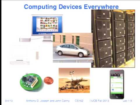 Lecture 01. Overview (CS 162, Fall 2013, UC Berkeley)