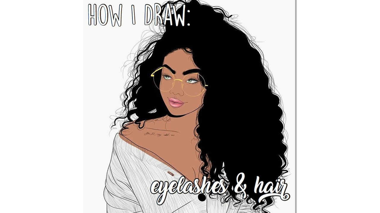 adobe draw curly hair tutorial