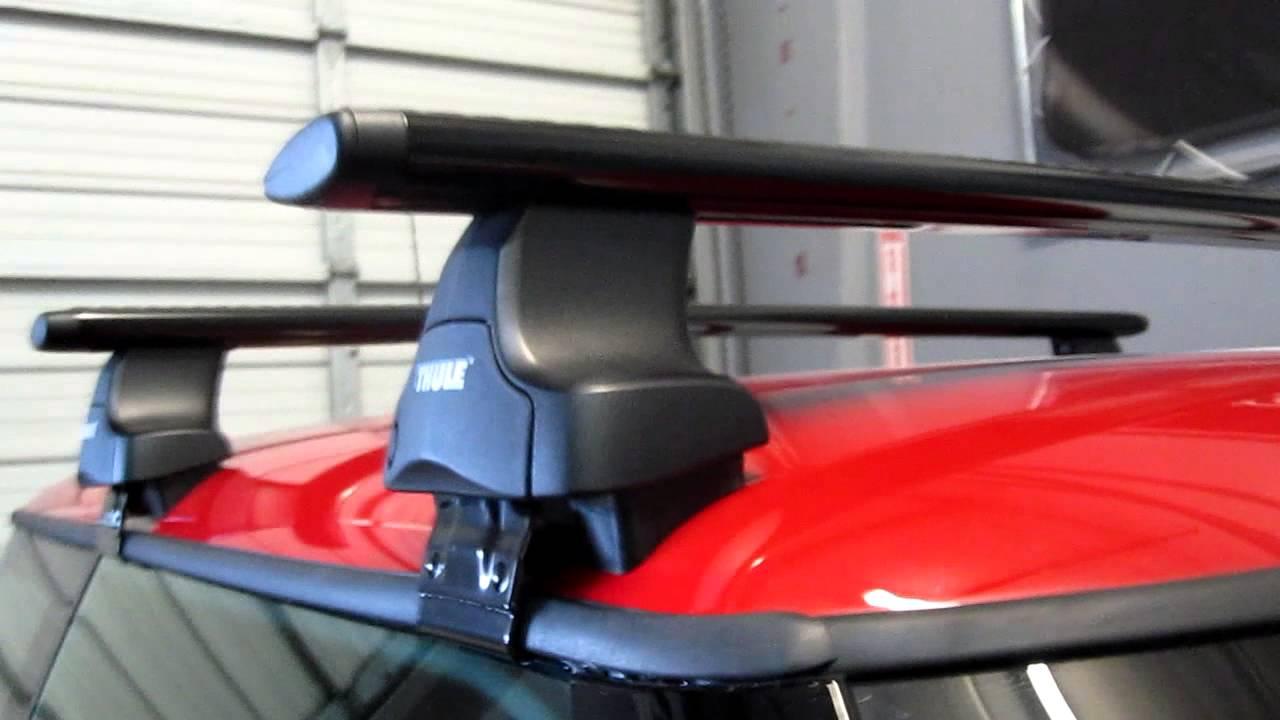 2012 Mini Cooper S With Thule 480r Traverse Black