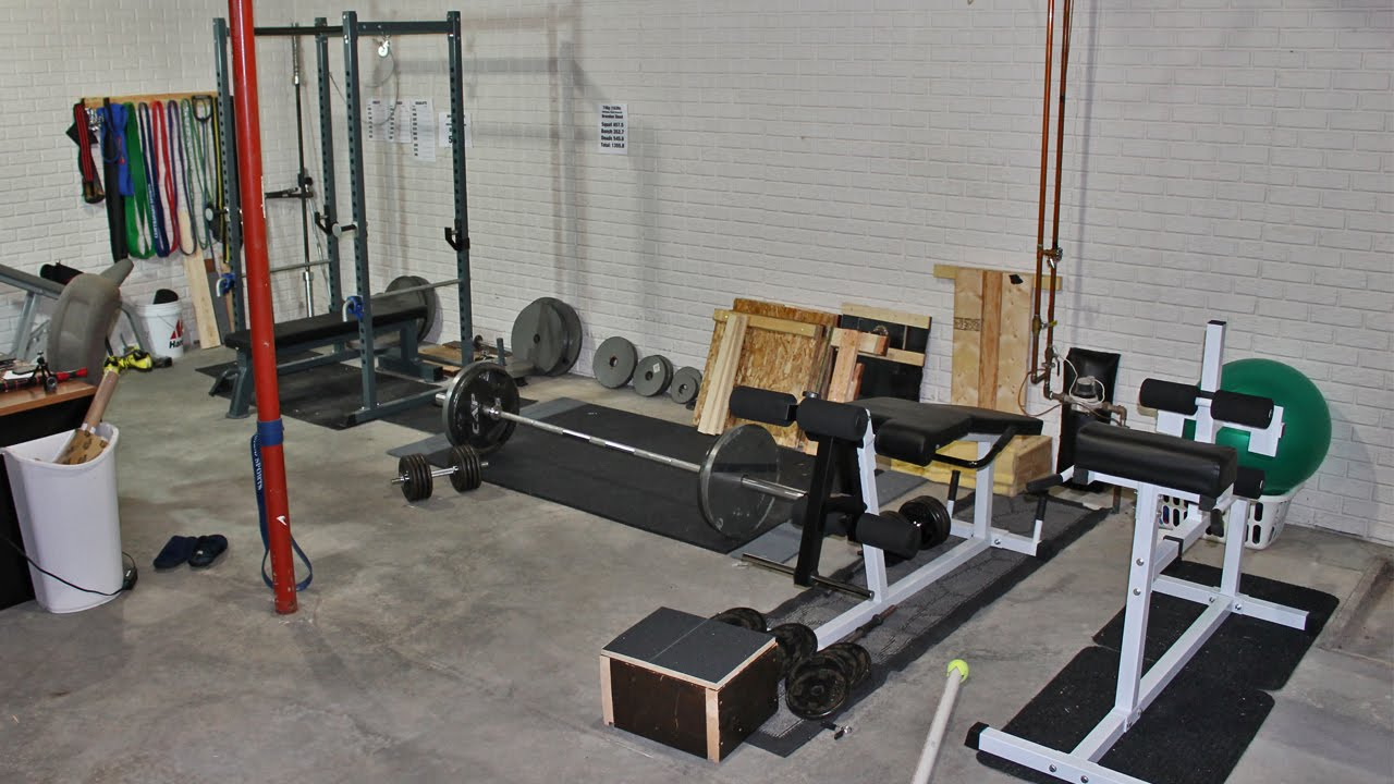 Setting up a home gym anotherhackedlife