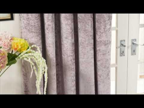 AW18 p089 46951232 Crushed Velvet Curtains STUDIO
