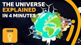 The history of the universe explained in 4 minutes | BBC Ideas