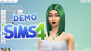 The Sims 4 Demo Gameplay