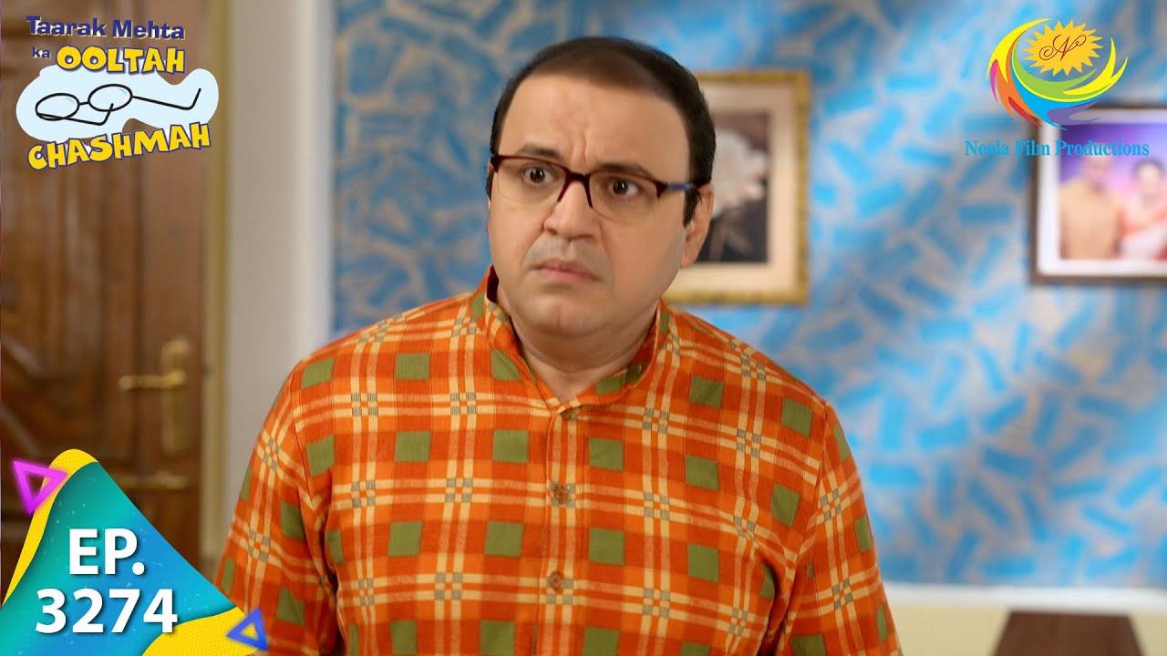 Download Taarak Mehta Ka Ooltah Chashmah - Ep 3274 - Full Episode - 12th October  2021