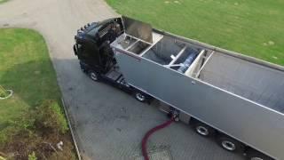 Liquid-X-Liner | Die Innovation in der Logistik von festen und flüssigen Gütern