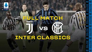 INTER CLASSICS | FULL MATCH | JUVENTUS vs INTER | SERIE A 2003/04 [with JULIO CRUZ] ⚫🔵🇮🇹