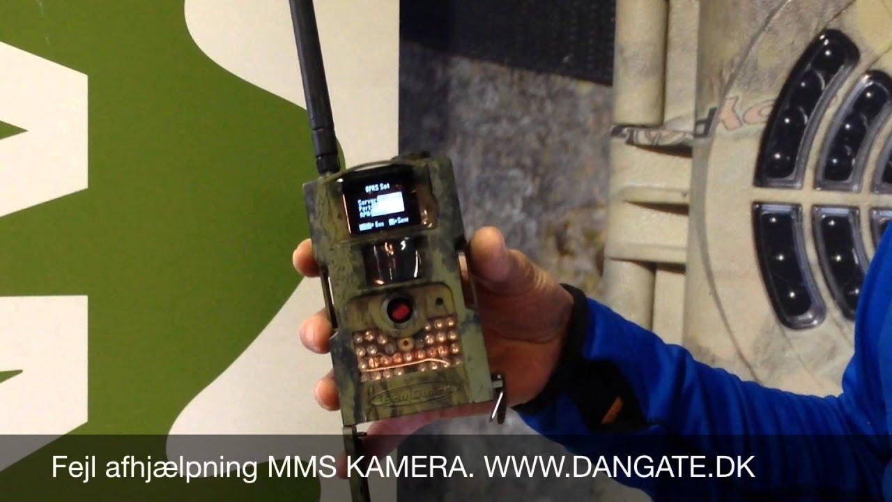 MMS vildtkamera opsætning - YouTube