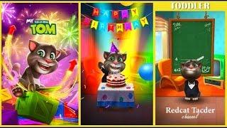 МОЙ ГОВОРЯЩИЙ ТОМ ВСЕ СЕРИИ 26-28 Tom -virtual pet ИГРА МУЛЬТИК #УШАСТИК KIDS