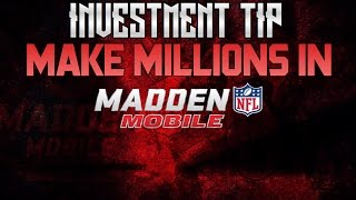 Madden Mobile 17 LIVESTREAM INVESTMENT TIPS AND TALKING TO YOU GUYS! GIVEAWAY ALSO! Madden Mobile 17