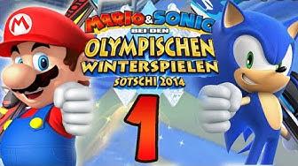 Let's Play Mario & Sonic bei den Olympischen Winterspielen: Sotschi 2014 Part 1: Sonic-Medley