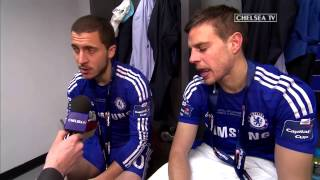 Chelsea: Hazard and Azpilicueta: We came to win trophies