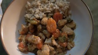 Eating Sounds: Chicken And Brown Rice