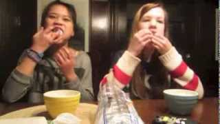 CHUBBY BUNNY CHALLENGE AND SALTINE CRACKER CHALLENGE Thumbnail